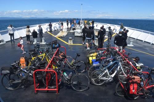 Coho bike parking