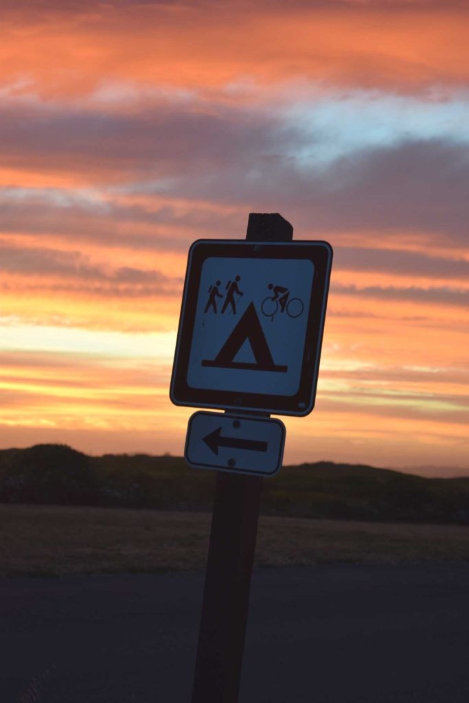 sunset sign