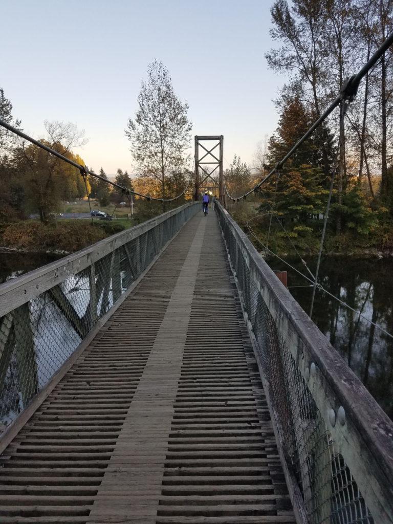 Bridge at Carnation park